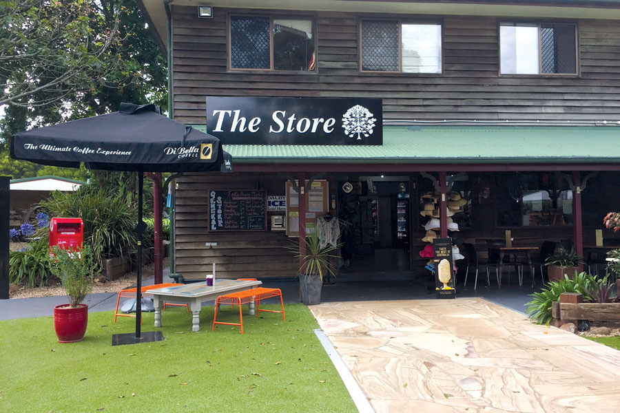 The Store from outside